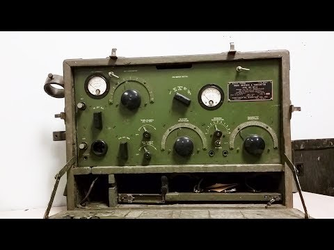 1934 Army BC-157-A Radio Receiver And Transmitter