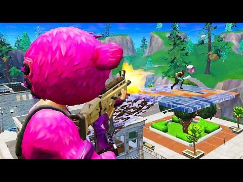 FORTNITE BATTLE ROYALE Mobile Gameplay Trailer