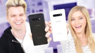 My First Unboxing (S10+) w/ iJustine!