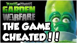 Plants vs. Zombies Garden Warfare - THE GAME CHEATS US!!! Gameplay Walkthrough (Xbox One HD)