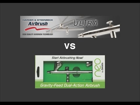 H&S Ultra vs Neo for Iwata Airbrush Review