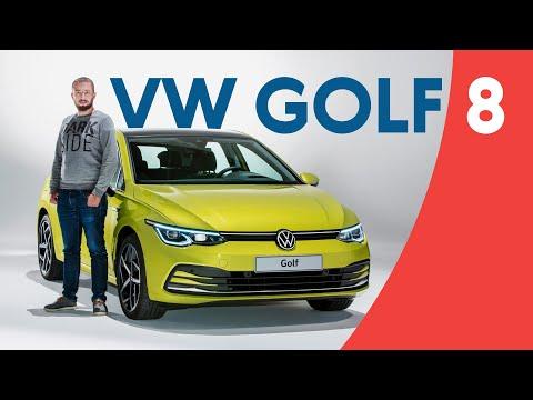 Новейший VW Golf 8: закат эпохи? Смотрим, трогаем и рассказываем