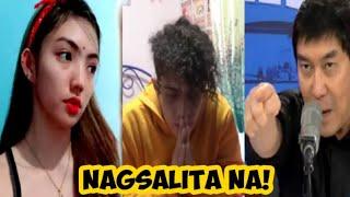 Part 5 Merck Grey NAGSALITA NA! Makaganda ipinaTulfo ang vlogger niyang bf na si Merck Grey