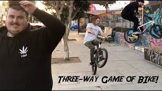 PHILBRAHH + TREVVY VS ALF GAME OF BIKE!
