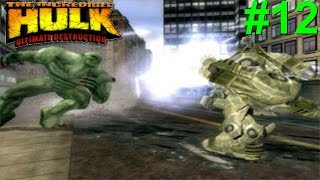 The Incredible Hulk: Ultimate Destruction PS2 Gameplay #12 [Abomination Edition]