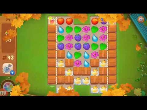 Как пройти 74 уровень в игре gardenscapes