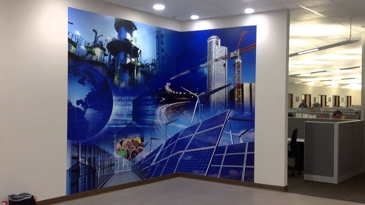Wall mural printing and installation by prolab digital for Digital print mural