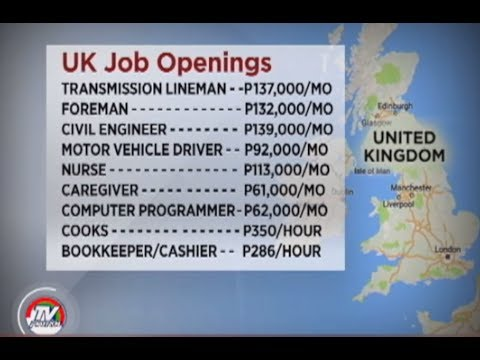 JOB OPENINGS IN UK JUNE 2017!   Filipino Nurses on top of the List! Click SUBSCRIBE for more!