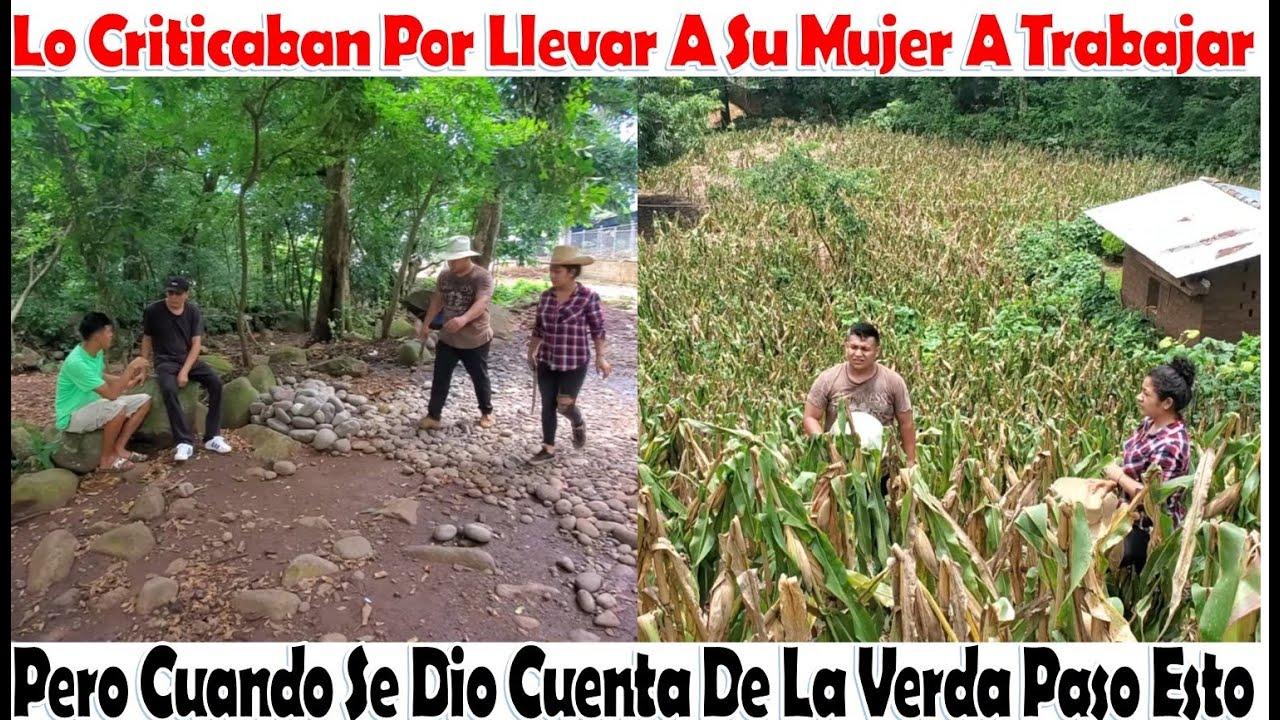 -Criticaban A Este Campesino Por Llevar A Su Mujer A Trabajar Al Campo, Y Paso Esto-