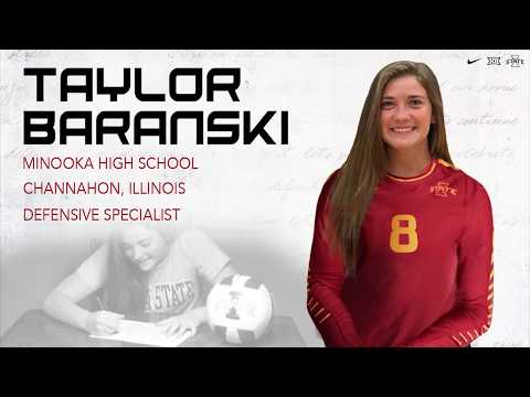Iowa State Volleyball Signing Day 2017