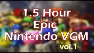 90 Minutes of Epic Nintendo Video Game Music (Vol 1)