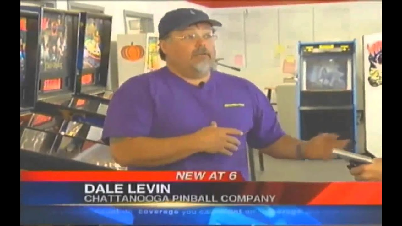 Channel 3 News Coverage of Chattanooga Pinball with Google Virtual Tour of  Showroom