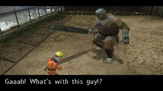 (PCSX2) Naruto Uzumaki Chronicles Walkthrough Part 20 Giant Boss Battle (720p)