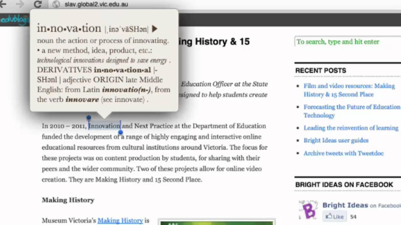 Bright Define Ipad Tips Define A Word Youtube