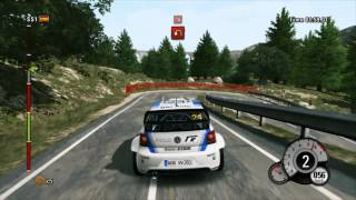 WRC World Rally Championship 3 : Gameplay on GTX 580 ( 1080p )