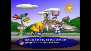 Chocobo Racing (PS1) Story Mode Clear! (HD60)