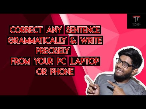How To Correct Any Grammatical Mistake From Your Mobile Or Pc Or Laptop Latest In English 2019