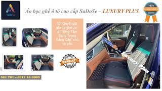 """♻️💯 """"Giữ gìn vệ sinh bảo vệ da ghế Jin"""" với Bộ Áo bọc ghế ô tô cao cấp SaDoSe phiên bản Luxury Plus"""