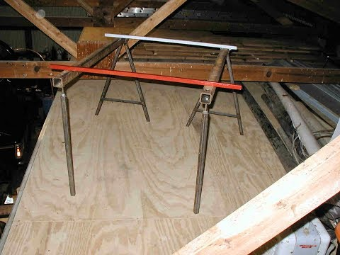 Adjustable Saw Horses and Winding Sticks
