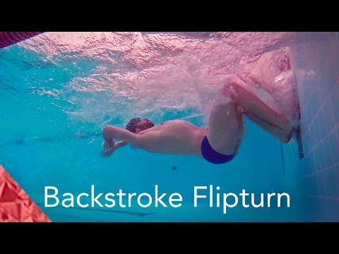 How To Do A Backstroke Flipturn. Improve Your Swimming Technique