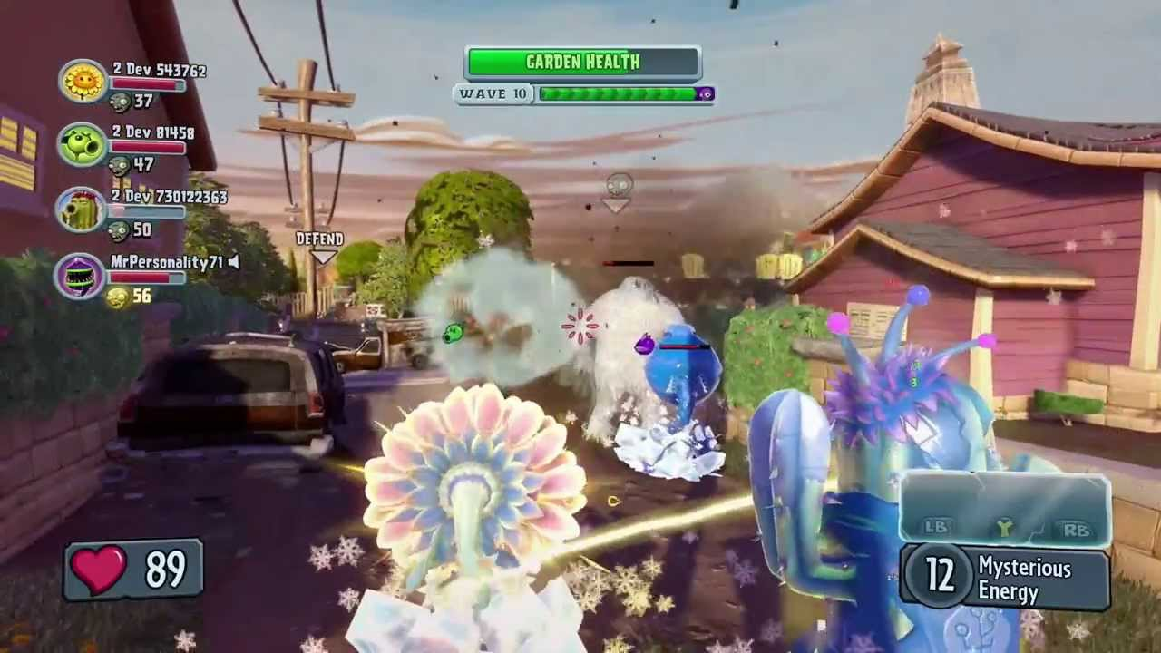 Plants Vs. Zombies Garden Warfare: 4 Player Co Op Gameplay With Developer  Commentary (ESRB 10+)   YouTube