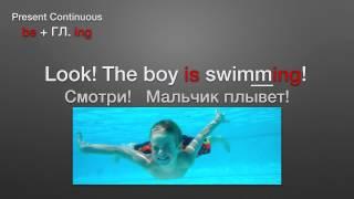 Present Continuous. Времена английского ПРОЩЕ ПРОСТОГО! 1