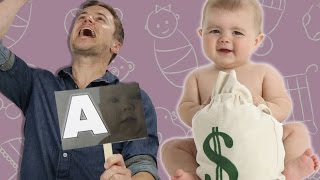 Men Guess The Cost Of Having Kids