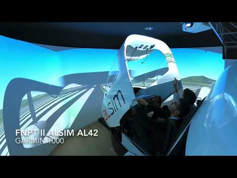 Alsim AL42 at One Air, Spain