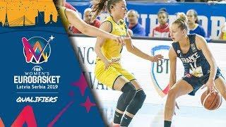 Romania v France - Full Game - FIBA Women's EuroBasket 2019 - Qualifiers 2019