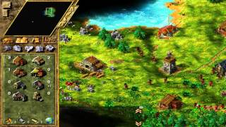 Lets play old school Settlers 4 Mission 1 Part 1 - New