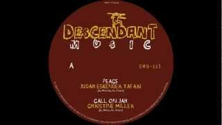 DMU-001 The Peace EP - Judah Eskender Tafari / Christine Miller / The H.U.S All Stars / Will Tee