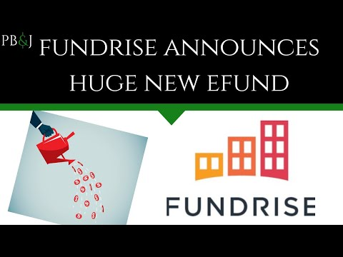 Fundrise offers new larger eFund with new features.