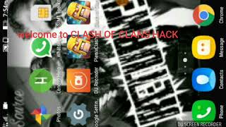 Clash of clans hack   new hack app having bush and builder hut in barracks