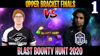 Secret vs OG Game 1 | Bo3 | Upper Bracket Finals BLAST Bounty Hunt | DOTA 2 LIVE