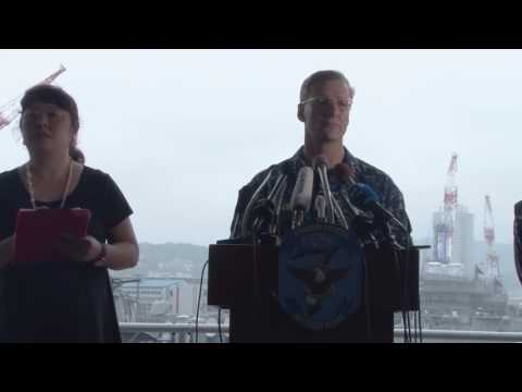 U.S. 7th Fleet Command Press Conference On USS Fitzgerald (DDG 62) Collision