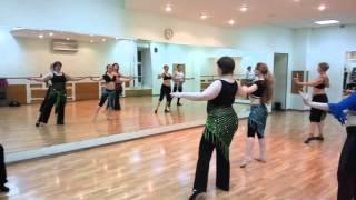 Tabla Solo Урок в школе восточного танца VeilDance