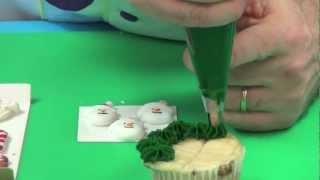 How to Make  Christmas Cupcakes | Global Sugar Art