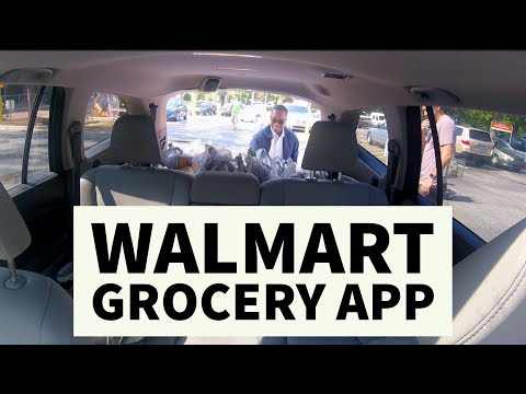 Walmart creepy (but convenient) grocery app