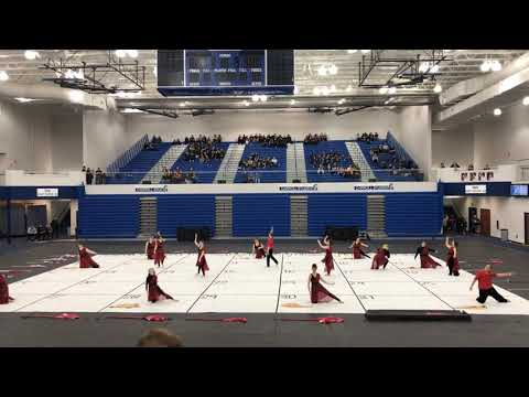 Jay county high school winter guard