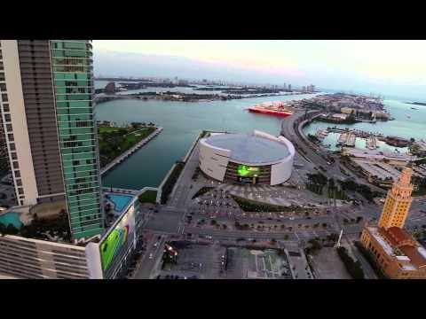 Downtown Miami Drone Aerials