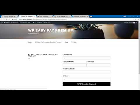 How to Accept Donations Using Square in WordPress - WP Easy Pay