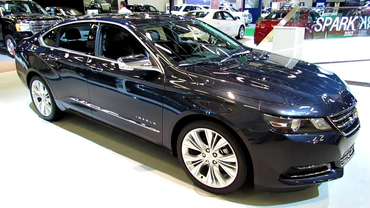 2014 chevrolet impala ltz exterior and interior. Black Bedroom Furniture Sets. Home Design Ideas
