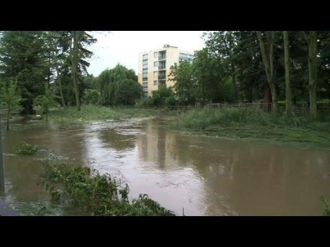 Longjumeau, à un vingtaine de km de Paris, les pieds dans l'eau