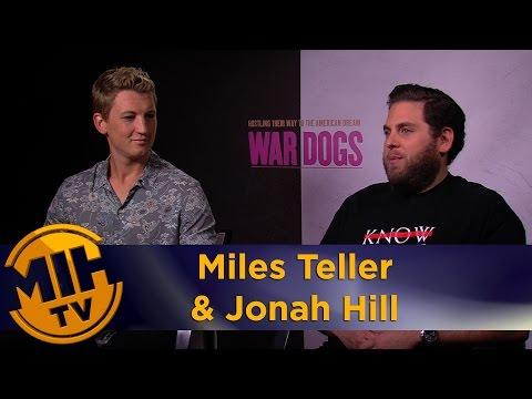 Miles Teller & Jonah Hill Interview War Dogs
