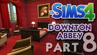 The Sims 4 House Building: Downton Abbey / Highclere Castle - Part 8 - (Real Time)