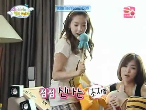 SNSD singing Candy by H.O.T