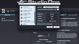 PreSonus 101: MIDI Device Setup in Studio One.