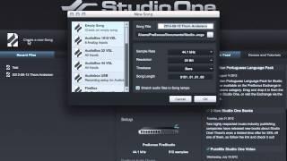 PreSonus 101: MIDI Device Setup in Studio One.