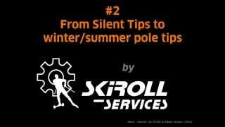 How to exchange pole tips: from rollerskiing to XC tips
