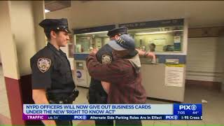 `Right to Know` act goes into effect in NYC